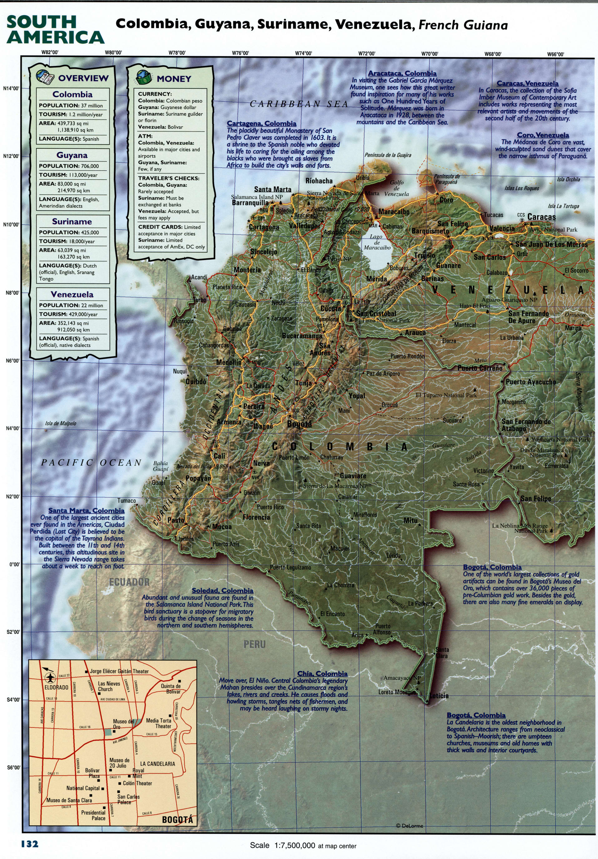 Brazil detailed mapFree Maps of South America.