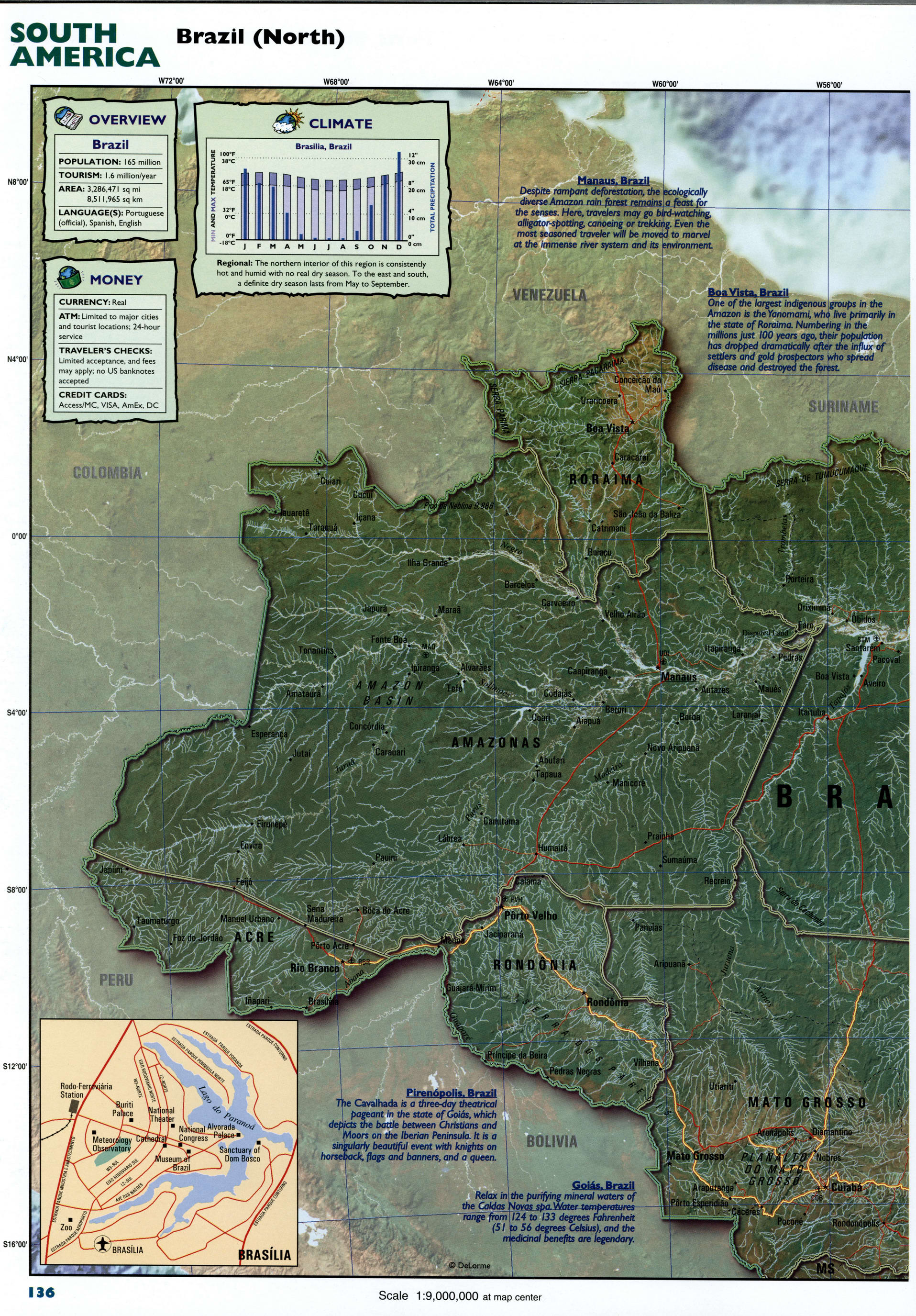 Bolivia detailed mapFree Maps of South America