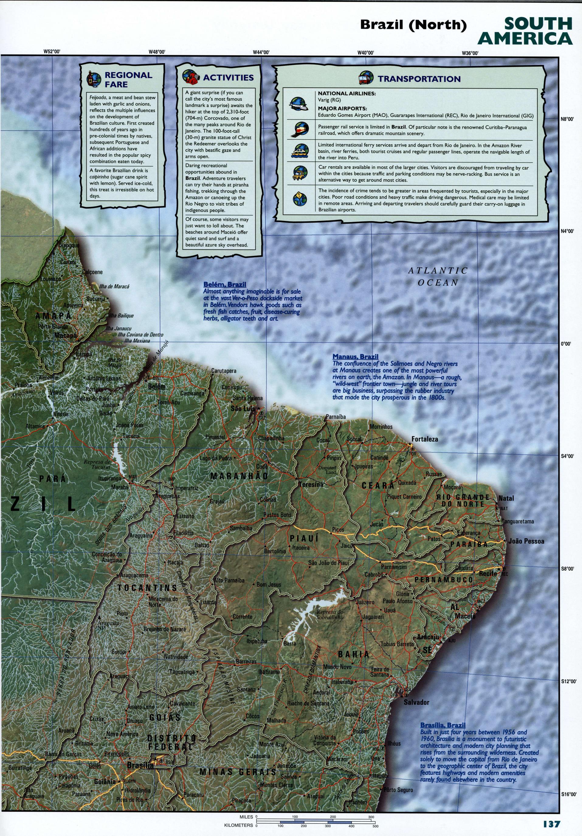 Bolivia detailed mapFree Maps of South America
