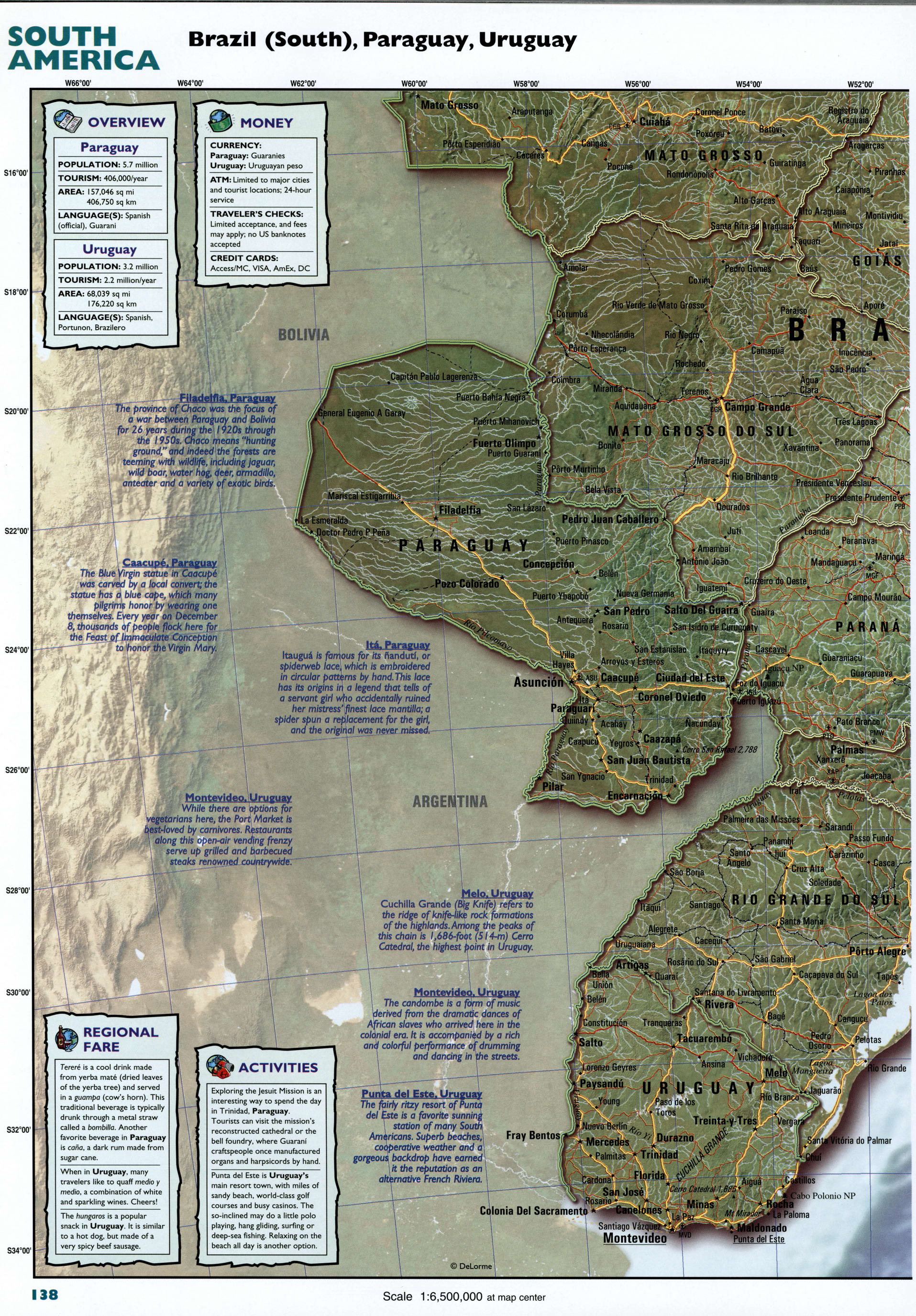 Chile detailed mapFree Maps of South America. on